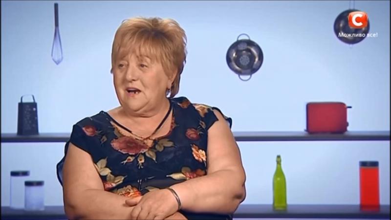 Баба Валя - жирная корова...фитнесша несчастная...срака как тумбочка, она спортсменка.