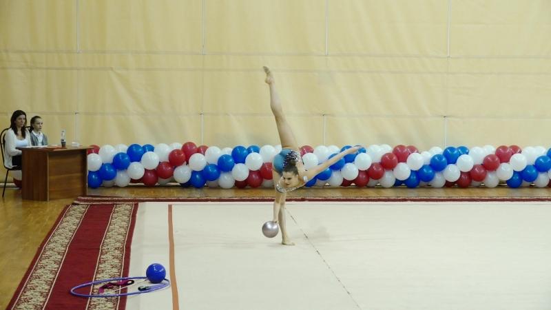Елизавета Луговских - мяч (финал)Чемпионат Приволжского округа, Самара 2018