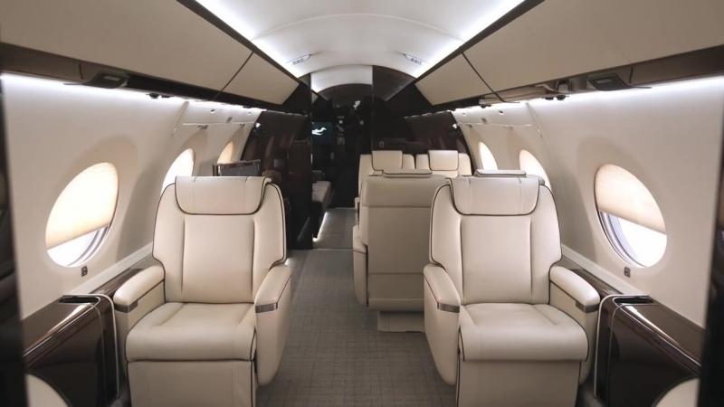 The Gulfstream G650 Cabin