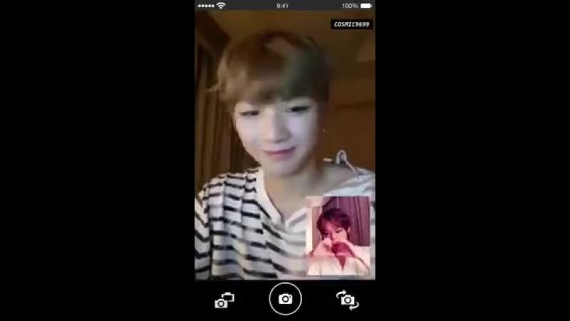 녤윙 아이시떼루 영상통화 버전두