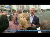 Сергей Собянин открыл движение по Боровскому шоссе возле метро «Новопеределкино».