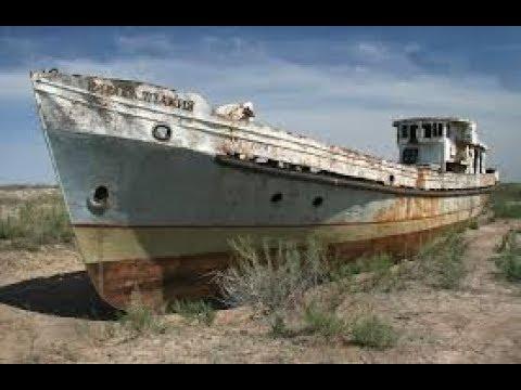 Куда исчезло Аральское море. Странные символы на высохшем дне. Климат планеты. Док. фильм.