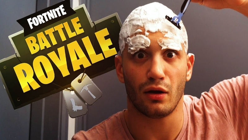 High Stakes Fortnite Loser SHAVES HEAD EYEBROWS