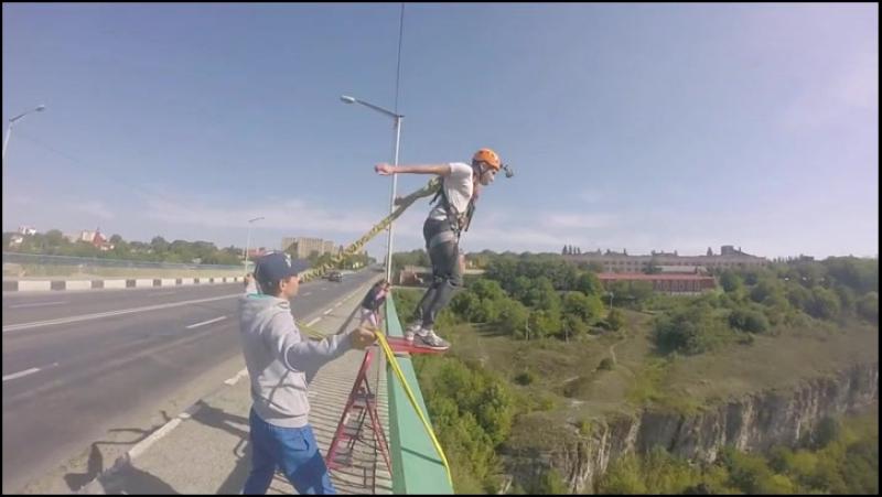 Роуп-джампінг - стрибки з мосту Кам'янець Подільський