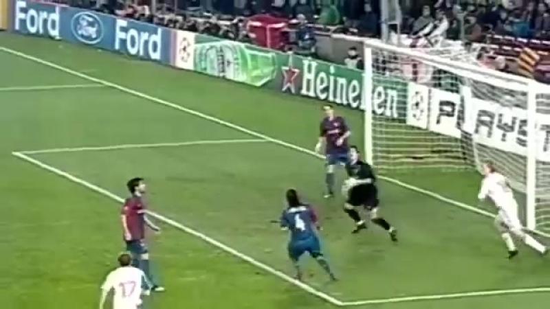 Великие матчи. Лига Чемпионов УЕФА 2006/07. 1/8 финала (первая игра). Barcelona-Liverpool