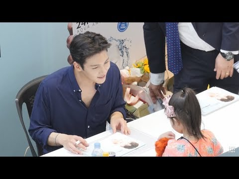 Hansome Actor Ji Chang Wook 지창욱 HD FanCam05 Fansign Event Starfield Hanam