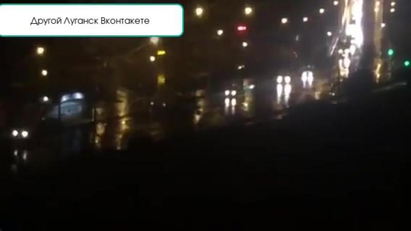 В оккупированный Луганск вошла колонна военной техники По ходу война будет сегодня