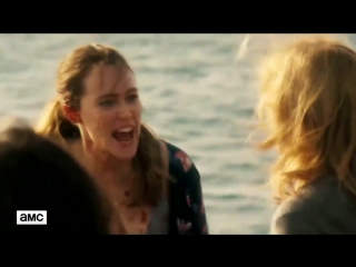 Alycia Debnam-Carey (Alicia Clark) are screaming | FearTWD |