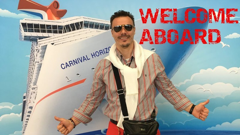 =NEW CARNIVAL HORIZON/Ship review, cabin, a day in the Sea=