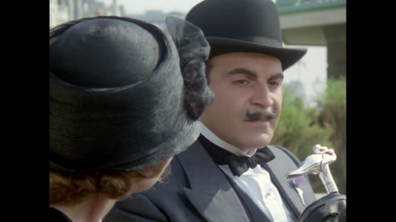 «Пуаро: Двадцать четыре чёрных дрозда» (1989) - детектив, реж. Эдвард Беннет, Ренни Рай