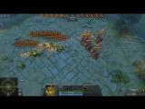 Bot Ai Battle Warlock vs Bristleback