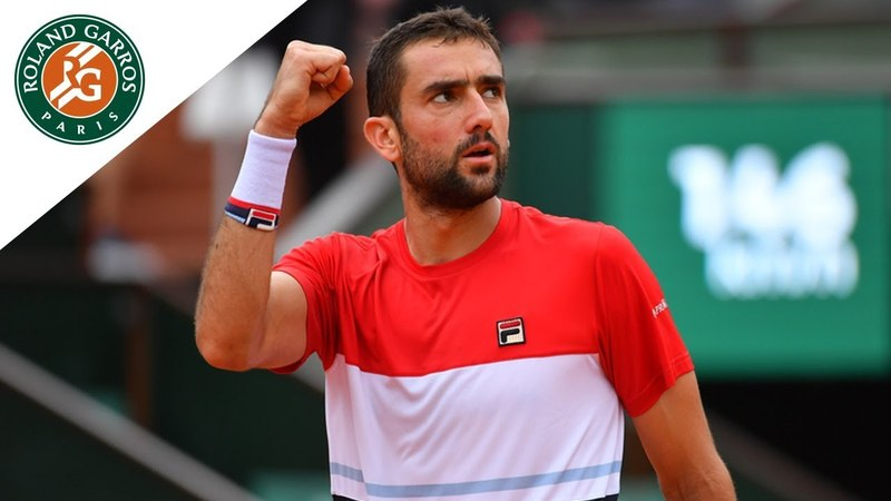 Marin Cilic vs James Duckworth - Round 1 Highlights I Roland-Garros 2018