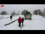 2018 Range Rover Velar уделал новый Патриот в снегу
