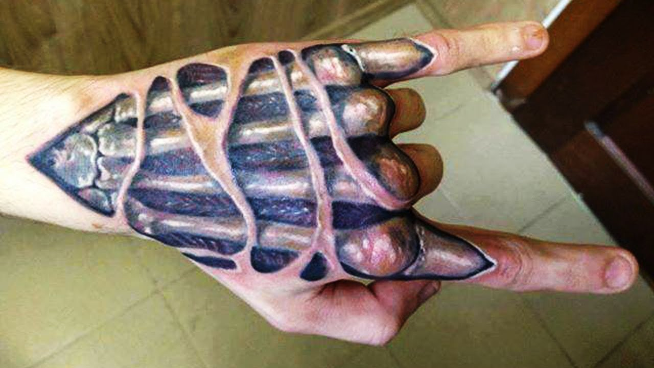 EFsevd 3C E - Вред от татуировки