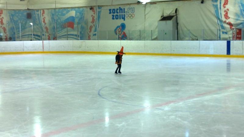 Ведьмочка на льду