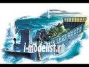 Пятая часть сборки масштабной модели фирмы Hobby Boss : LCM 3 USN Vehicle Landing Craft, в масштабе 1/48. Автор и ведущий: Алексей Хрущ. : www.i- goods/model/flot/989/990/