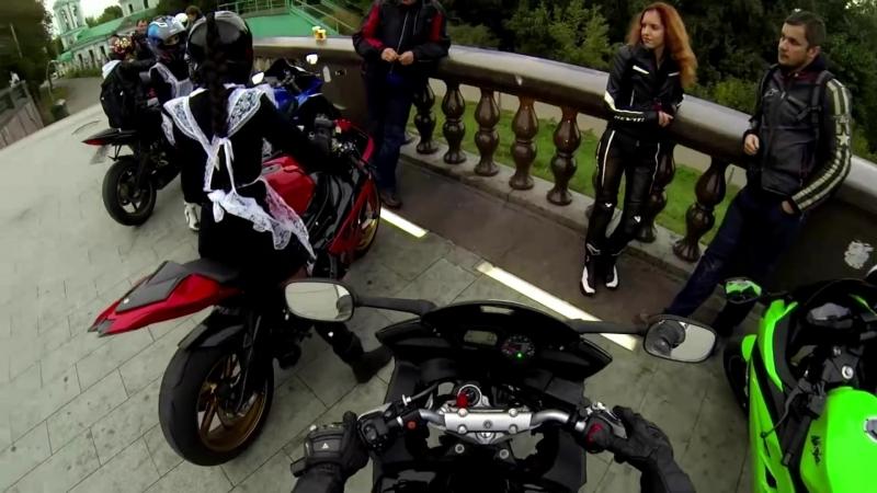 девушка на мотоцикле_⁄ школьница на мотоцикле _⁄ biker girl _⁄ bmw s1000rr hp
