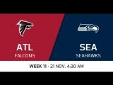 NFL 2017  W11  Atlanta Falcons - Seattle Seahawks  CG  EN