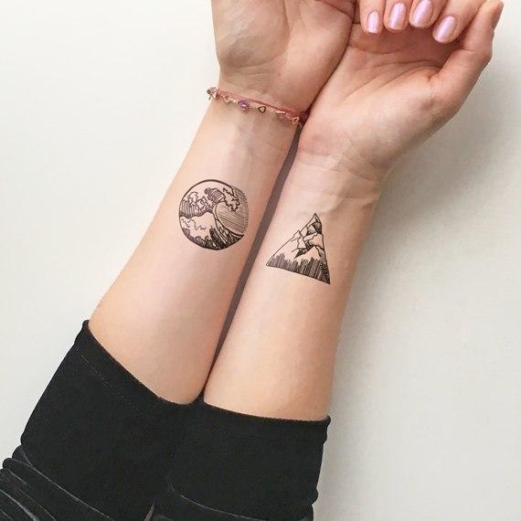 Временная татуировка 116