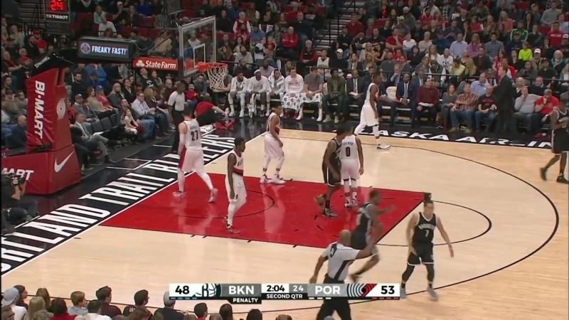 Brooklyn Nets @ Portland Trail Blazers - March 4, 2017 - Recap