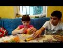 Аринка-мандаринка Открываем мимимишки