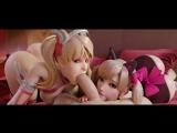 Mercy Pink _ Dva black cat