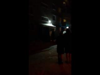 Пожар в Комсомольске в районе ост. Садовод