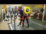 Алексей Никулин,  приседания 315 кг на 2 раза