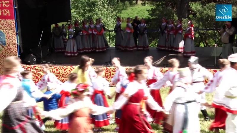 В усадьбе Василево прошли традиционные Троицкие гулянья