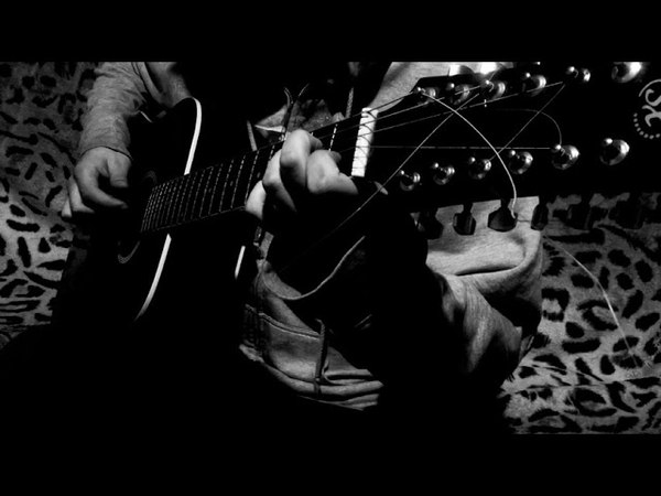Dean Stiwen - А На Море Белый Песок ( Жанна Фриске fingerstyle cover)