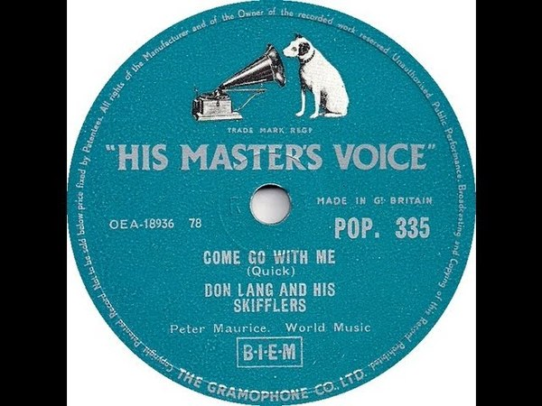Don Lang and his Frantic - Come go with me