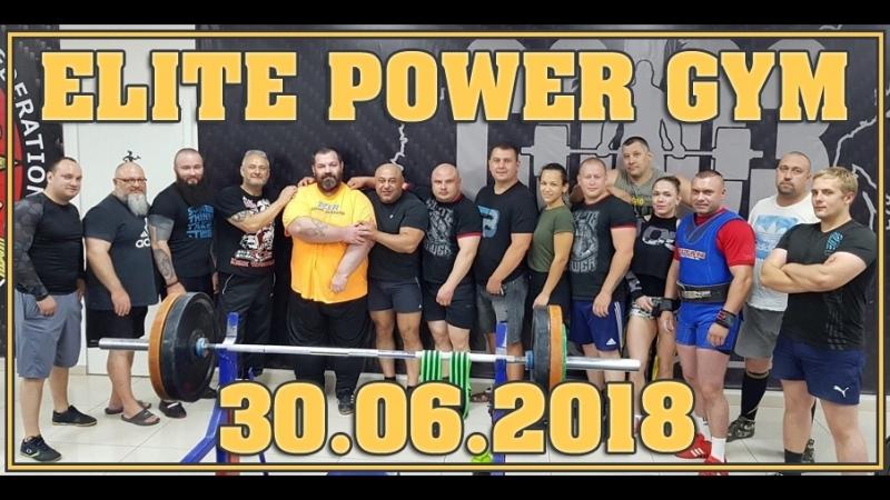 ELITE POWER GYM - Один, из лучших залов для Пауэрлифтинга в России!