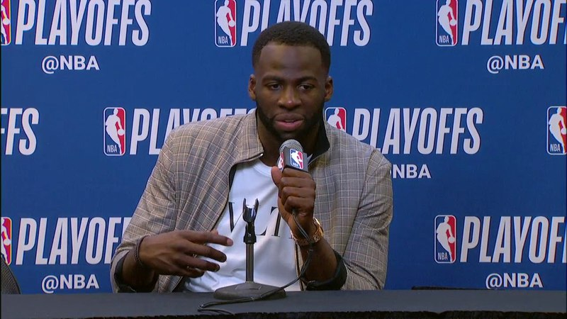Draymond Green Postgame conference | Warriors vs Spurs Game 3 | April 19, 2018 | NBA Playoffs