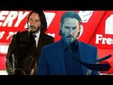 Видео со съёмок фильма «Джон Уик 3»
