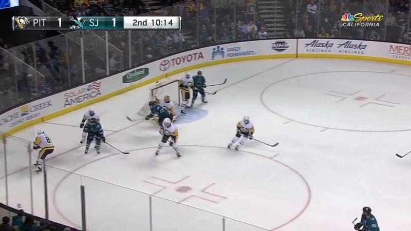Pittsburgh Penguins vs San Jose Sharks Jan 20 2018 Game Highlights NHL 2017 18 Обзор