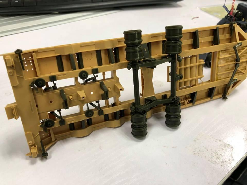 resin M911 Engine /& Transmission Set Meng Model 1:35