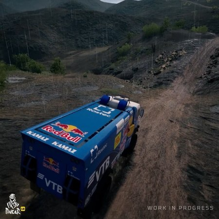 """Dakar Rally Official Game on Instagram: """"Rain and mud aren't enough to stop Kamaz Master's big machines in Dakar 18! Do you have what it takes to o..."""