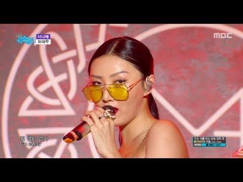 [Comeback Stage]MAMAMOO - Egotistic, 마마무 - 너나해 Music core Show Music core 20180721