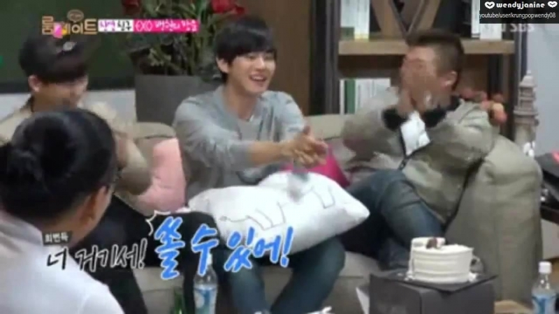 140727 Roommate EXO Baekhyun movie imitation cut XD