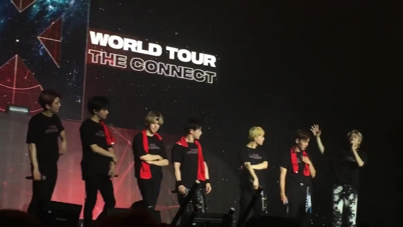 [VK][180620] MONSTA X - Ending Talk @ The 2nd World Tour The Connect in Amsterdam