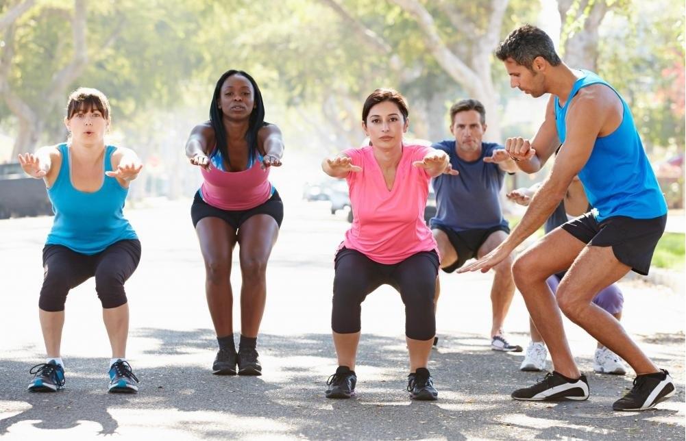 Упражнения играют важную роль в поддержании правильного питания.