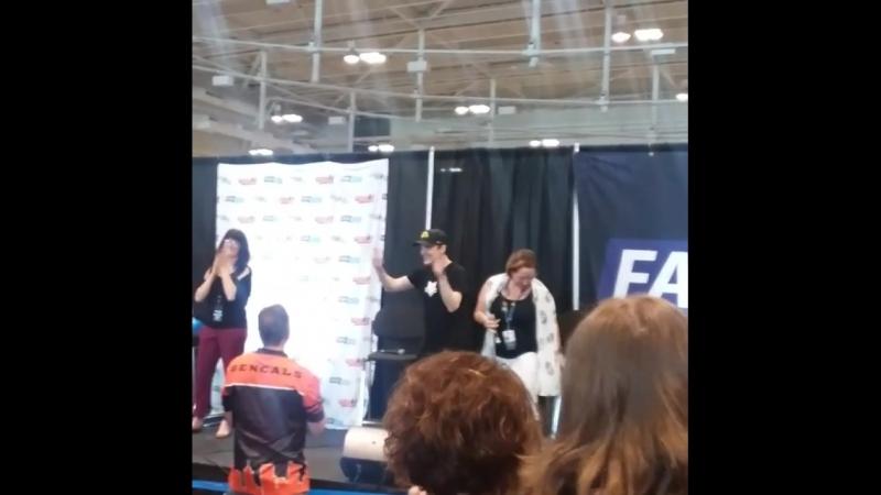 Конвенция «Heroes and Villians Fan Fest» в «Music City Center» в Нэшвилле, штат Теннесси (12.05.2018) 5
