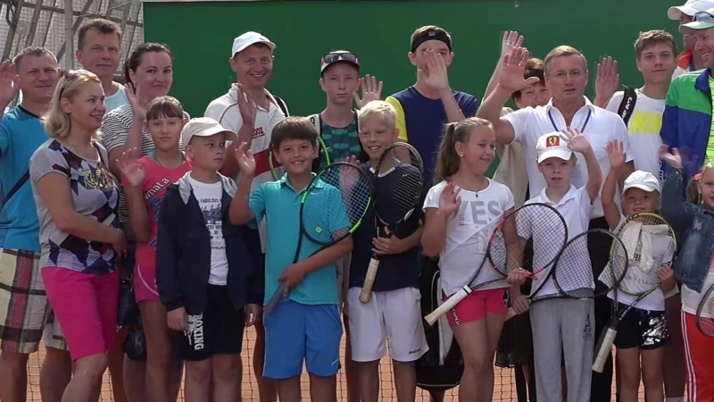Мастер-класс от Сакской Федерации Тенниса. Июль 2018 года.