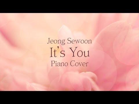 정세운 (Jeong Sewoon) - Its you | 가사 lyrics | 신기원 피아노 커버 연주곡 Piano Cover
