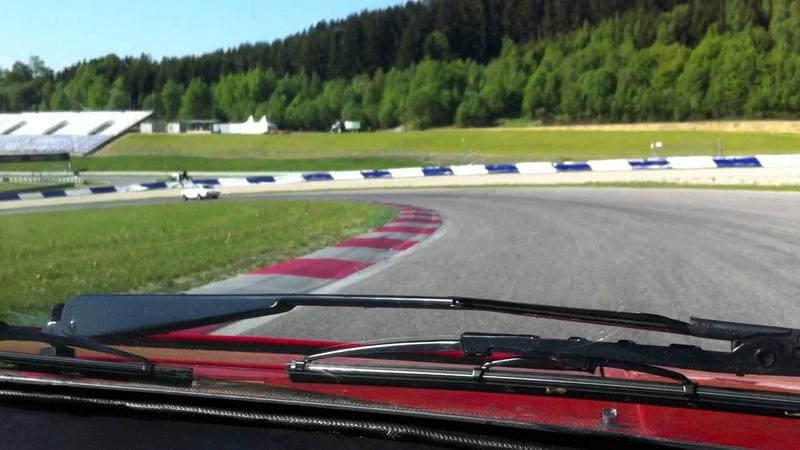 Lamborghini Urraco P250S - eine Runde auf dem Red Bull Ring