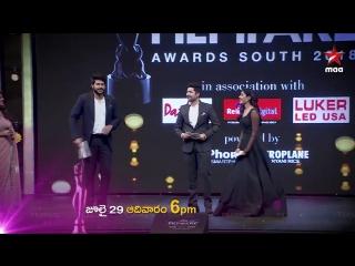 Церемония награждения FilmFare South 2018.