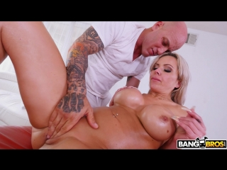 Nina Elle - Busty Nina Squirts During Anal For A Messy Creampie.( BigTitCreamPie)