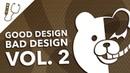 Good Design, Bad Design Vol. 2 - Great Terrible Video Game Graphic Design Examples ~ Design Doc