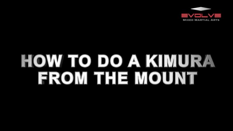 Tiago Kozama kimura from the mount