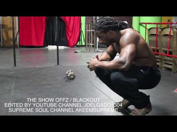 THE SHOW OFFZ : BLACKOUT : BAR PRODUCTIVE : SUPREME SOUL WHEN YOUR LOST BLACKOUTS NEVER GONE